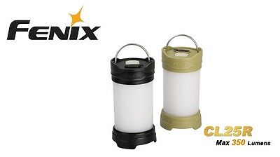 New Fenix CL25R White and Red LED Camping Lantern Light ( Black ) NO battery