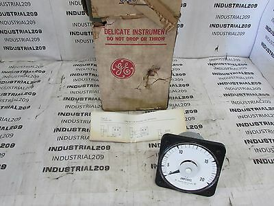 General Electric 103131Lsng2 Ac Ammeter New In Box