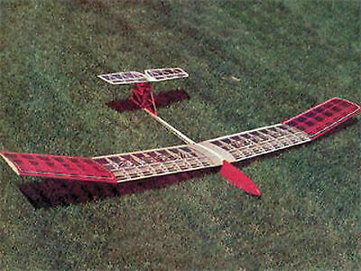 Large Scale RO8 scratch build r/c GLIDER Plans & Instruction 78 in. wingspan