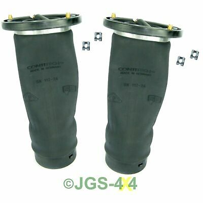 Land Rover Discovery 2 Rear Air Suspension Spring Bags x 2 Contitech - RKB101200