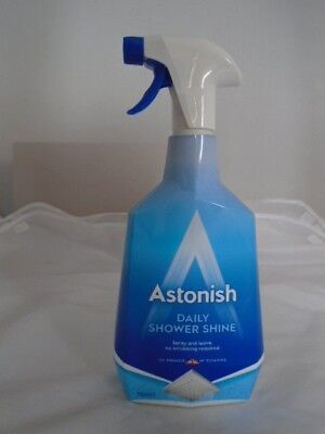 Astonish Daily Shower Cleaner Trigger Spray 750Ml New