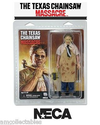 """NECA THE TEXAS CHAINSAW MASSACRE 40th ANNIVERSARY 8""""inch CLOTHED LEATHERFACE"""