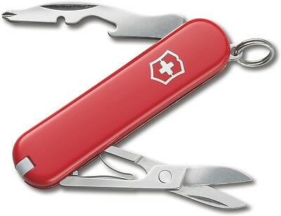 VICTORINOX Swiss Jetsetter Red 58 mm Perfect Gift for Frequent Fliers 58128 NEW