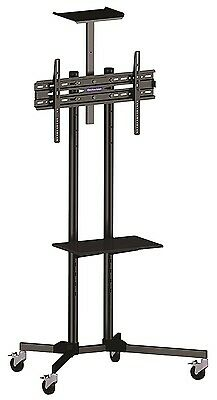 Home Office Business Commercial TV Television Plasma Stand Trolley Floor Mounted