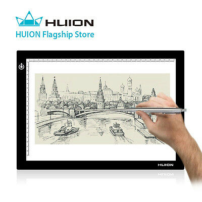 Huion L4S Ultra Thin Bright LED Light Box for Anime Drawing Tattoo Tracing A4 AU
