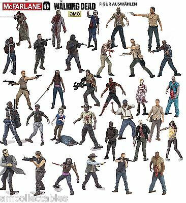 McFARLANE AMC THE WALKING DEAD BUILDING SET - FIGUR AUSWÄHLEN - NEU