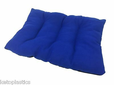 Large Blue Pet / Cat / Dog Cushion / Dog Bed / Floor Cushion / Basket / Fleece