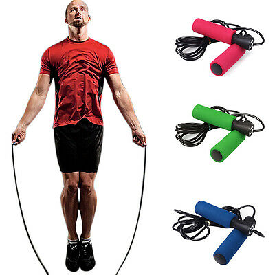 Aerobic Exercise Skipping Speed Jump Rope Crossfit Adjustable Bearing Fitness