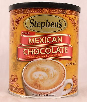 1 Stephen's Mexican Chocolate Hot Cocoa Drink mix GLUTEN FREE Exp.New/Fresh