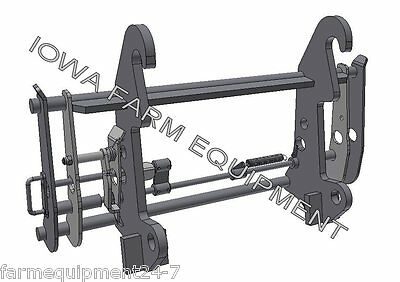 Telehandler to Euro/Global QuickAttach Adapter Bobcat,Gehl,Genie,JCB,JLG,Holland