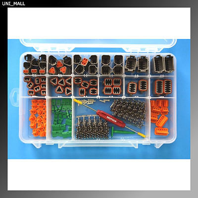 356 PCS DEUTSCH DT Genuine Connector Kit + Removal Tools, USA