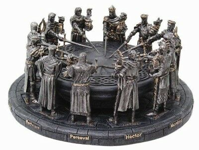 King Arthur and The Knights of The Round Table British Legend Figurine Decor