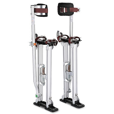 24-40 Inch Aluminum Stilt Drywall Painting Stilts For Painter Taping Tool Silver