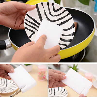 10 BULK PAK Cleaning Magic Sponge Eraser Melamine Cleaner multi-functional foam