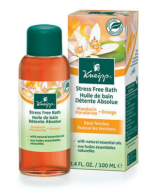 Kneipp Stress Free Bath, Mandarin Orange (100ml) (3.4 fl. oz.)