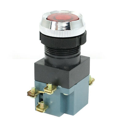 AC 380V 5A Indicator Light ON OFF START STOP Momentary Push Button Switch