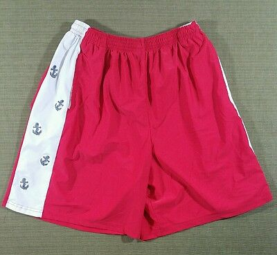 Krass and Funnell Anchor Preppy Shorts Made in USA XXL