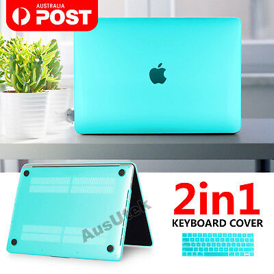 "Tiffany Blue Gold Mac Case Keyboard Cover For Macbook Air 13"" 11"" Pro 12"" Retina"
