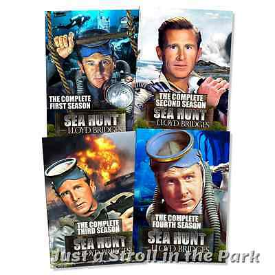 Sea Hunt: Complete Lloyd Bridges TV Series Seasons 1 2 3 4 Box/DVD Set(s) NEW!