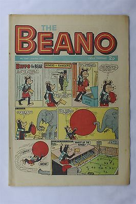 The Beano 1507 June 5th 1971 Vintage Comic Dennis The Menace Biffo The Bear