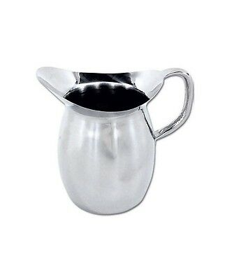 Winco WPB-3, 3-Quart Deluxe Bell Pitcher, Stainless Steel