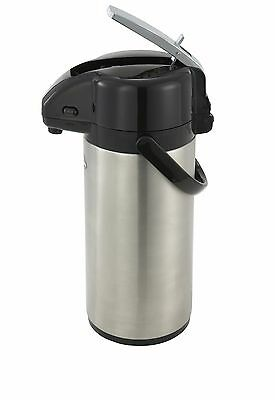 Winco APSK-725, 2.5-Liter Stainless Steel Body and Liner Lever-Top Vacuum Server