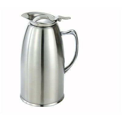 Winco VSS-508, 20-Ounce Double-Wall Insulated Stainless Steel Lined Server