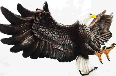 "American Bald Eagle Wall Mount Home Decor Collection Statue Figurine 25""L"