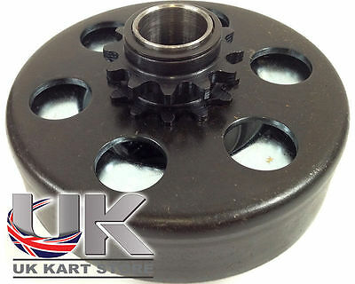 Max-Torque 12t #35 Pitch Centrifugal Clutch Black Spring UK KART STORE
