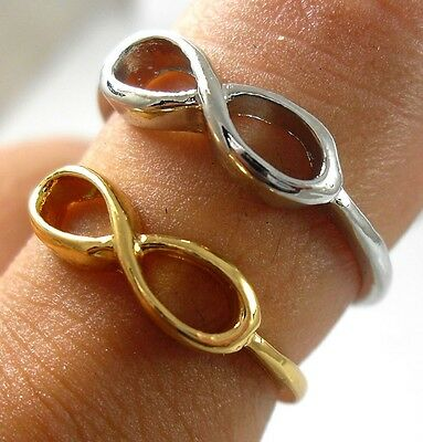 10 Rock Infinity sign Finger friendship wish Ring peace party Rings jewelry lots