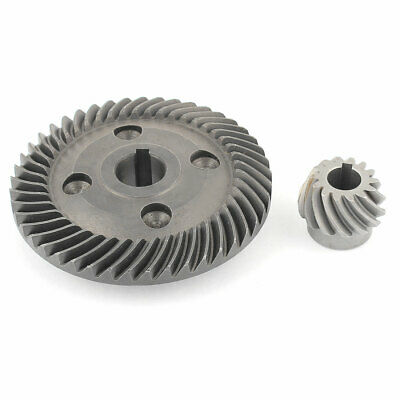 2 in 1 Power Tool Spiral Bevel Gear Wheel Set for Hitachi 180 Angle Grinder