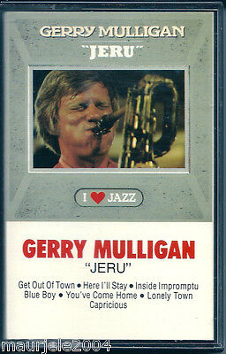Gerry Mulligan. Jeru (1962) Musicassetta NUOVA Get Out Of Town. You've Come Home