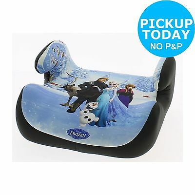 Disney Frozen Topo Car Booster Seat - Group 2-3 - Blue :The Official Argos Store