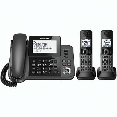 Panasonic KX-TGF352M  DECT 6.0 Corded/Cordless Phone Digital Answering System