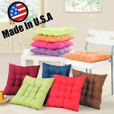 Homemade USA Cushion Pad Seat Chair Patio Home Car Sofa Office -Square 8 Colors