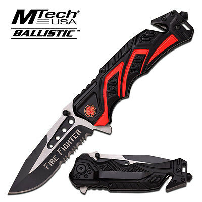"""8"""" MTECH SPRING ASSISTED FOLDING KNIFE Pocket Blade open assist SWITCH"""