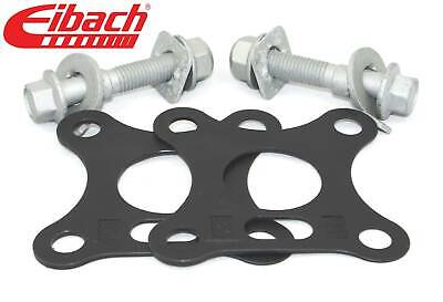 Pair Eibach Front Camber bolts & Rear Camber Shims Kit ± .5° Civic Type-R 06-on