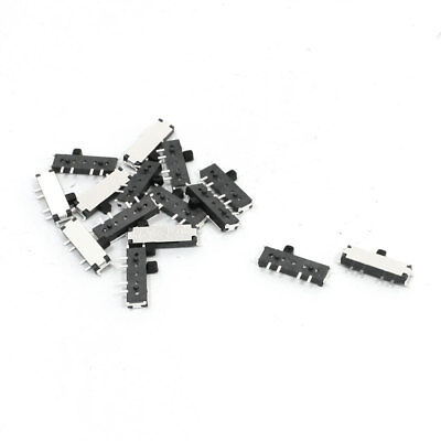 15Pcs On/Off/On 8 Pin 2P2T DPDT Mini SMD SMT Slide Switch 11 x 5 x 1.5mm