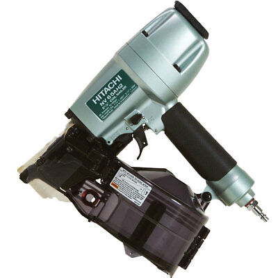 "Hitachi 1-1/2"" - 2-1/2"" 16deg Coil Siding Nailer 2 Firing Modes NV65AH2 New"