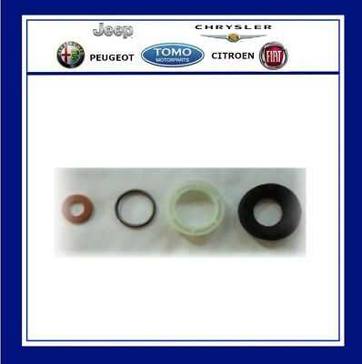 Citroen Peugeot 1.6Hdi  Ford TDCI Injector Washer seal Kit Genuine PSA 4 Piece