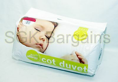 New Nursery Baby Junior Toddler Anti Allergy Cot Duvet  4.5 TOG Quilt