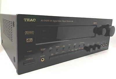 TEAC AG-D9260AV  5x100 Watts Digital Home Theatre Receiver 100% Perfect Like New