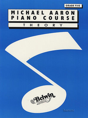 Michael Aaron Piano Course Theory Grade 5 Music Book