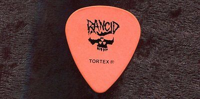 RANCID 2009 Dominoes Tour Guitar Pick!!! TIM ARMSTRONG custom concert stage