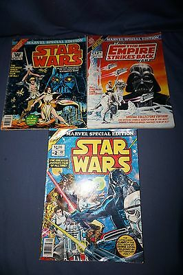 Marvel Special Edition Star Wars #1 & #2 The Empire Strikes Back #2 - Whitman