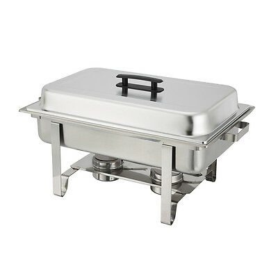 Winco C-3080B, 8-Quart Economy Stainless Steel Chafer