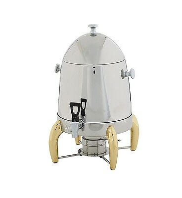 Winco 903A, 3-Gallon Coffee Urn with Gold Legs and Handles