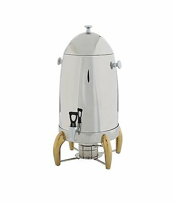 Winco 905A, 5-Gallon Coffee Urn with Gold Legs and Handles