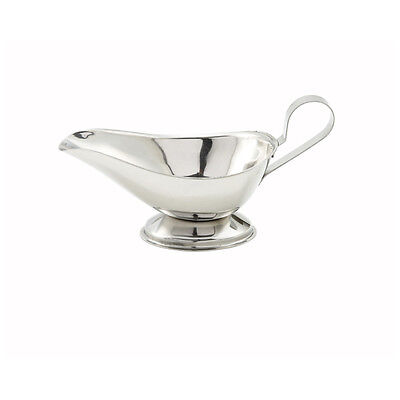 Winco GBS-5, 5-Ounce Stainless Steel Gravy Boat