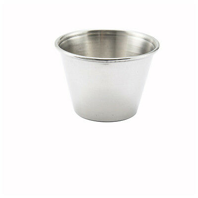 Winco SCP-25, 2.5-Ounce Stainless Steel Sauce Cup, 1-Dozen